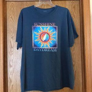 Grateful Dead blue Sunshine Daydream T shirt XL